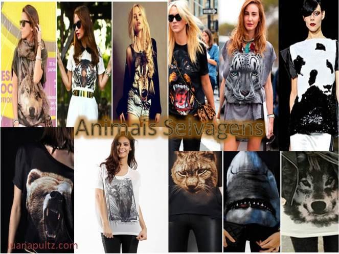 animais selvagens.