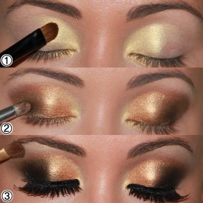 make-dourado-7-passo