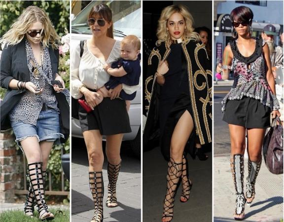 moda-sandália-gladiadora-knee-high-borboletas-na-carteira-style-fashion